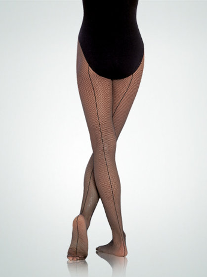 A62 TotalSTRETCH® Seamed Fishnet Tights