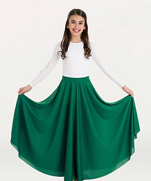 0501 Body Wrappers Child Single Panel Skirt