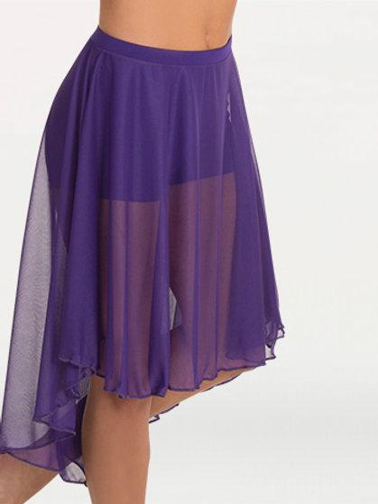 BW9101Knee Length Chiffon Skirt