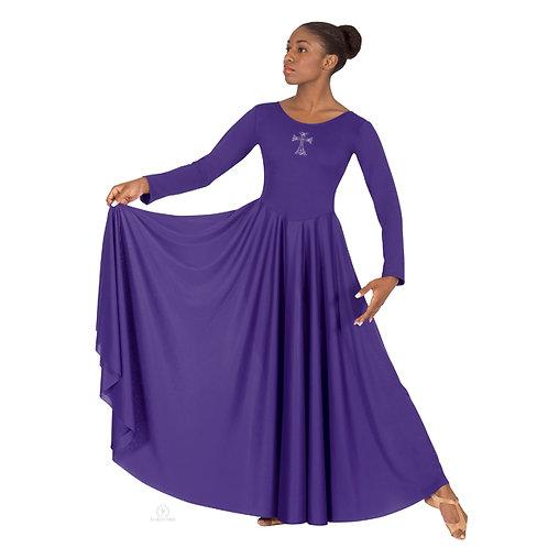 11022 Rhinestone Cross Dress