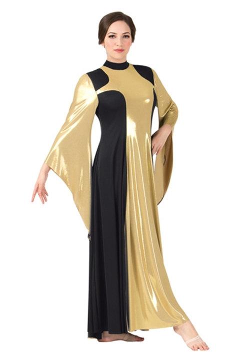 BT5197 Metallıc Dress