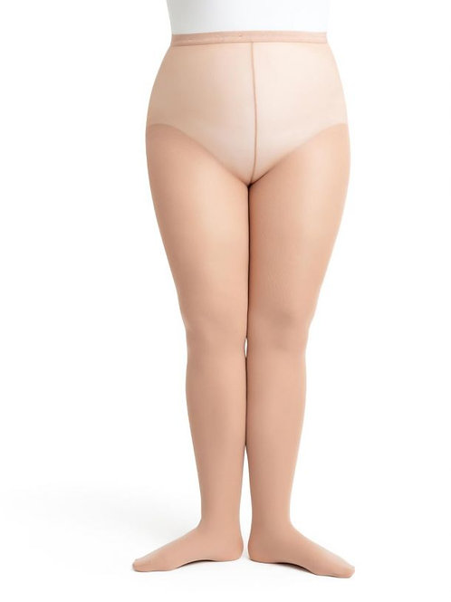 N1862 Hold & Stretch® Plus Size Footed Tight