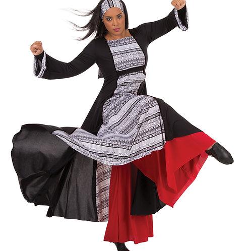 0674 Child Tribal Simplicity Dress