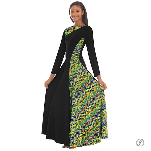 63867Adult Joyful Asymmetrical Dress