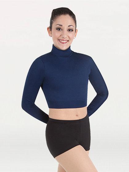 BWP206 BW ProWEAR® Long Sleeve Turtleneck Midriff Pullover