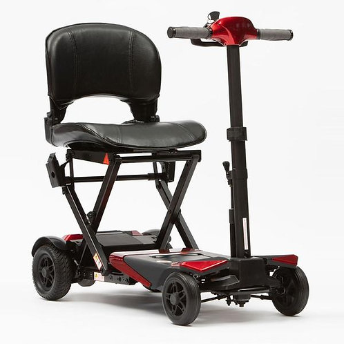 Drive Manual fold red mobility scooter