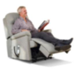 sherborne keswick man in reclining chair