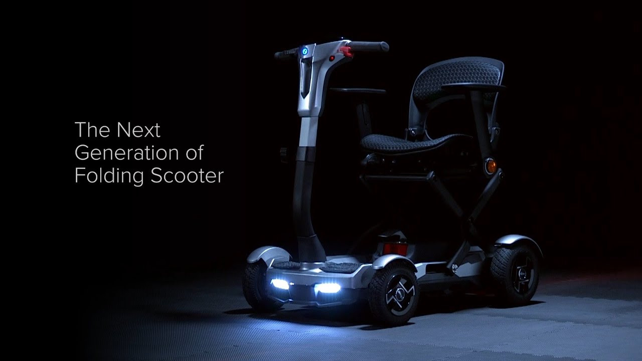 Drive Knight folding mobility scooter