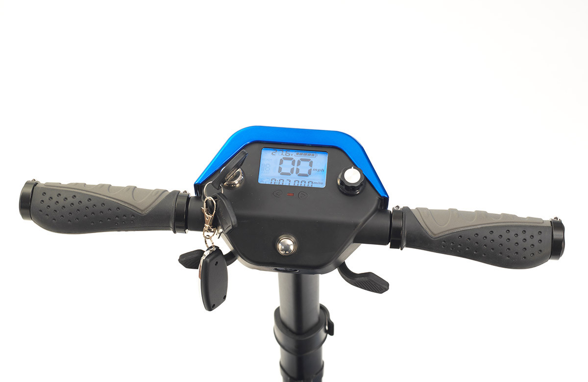 dive auto fold mobilty scooter control pannel