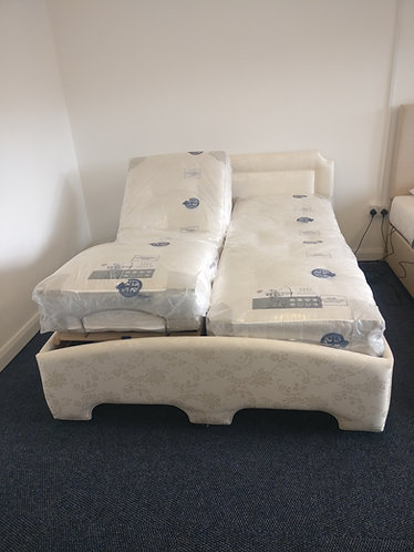 Our very own South Yorkshire Mobility branded bed, made here in SOUTH YORKSHIRE
