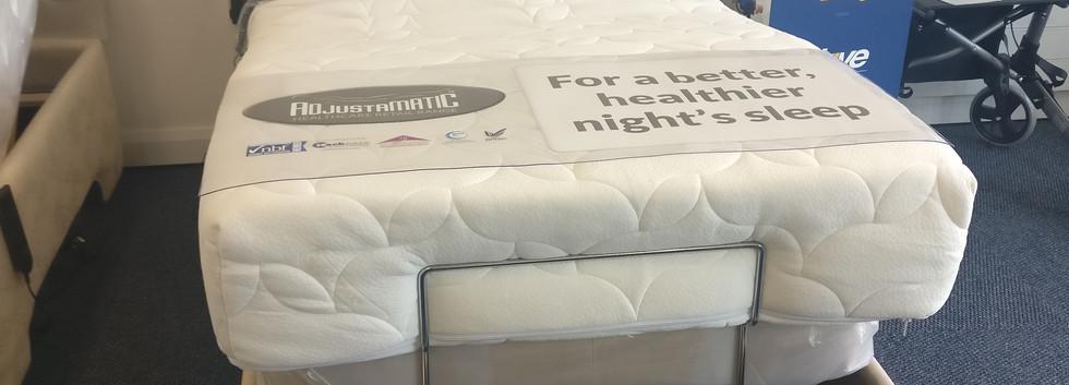 Adjustamatic adjustable electric bed