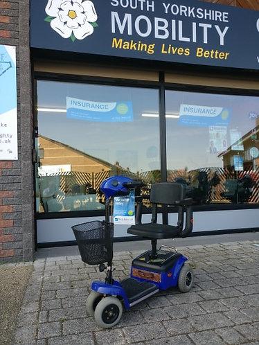 Shoprider 4 MPH Whisper mobility scooter,the sam as Maj in Benidorm