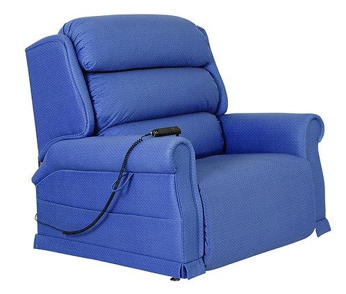 Bariatric Blue Rise and Recline chair