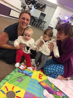 Mum and baby classes Rotherham