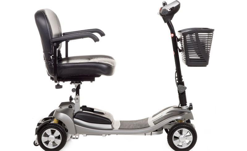 Alumina silver light weight mobility sco