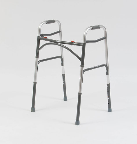 Drive DeVilbiss bariatric Folding Walker side view