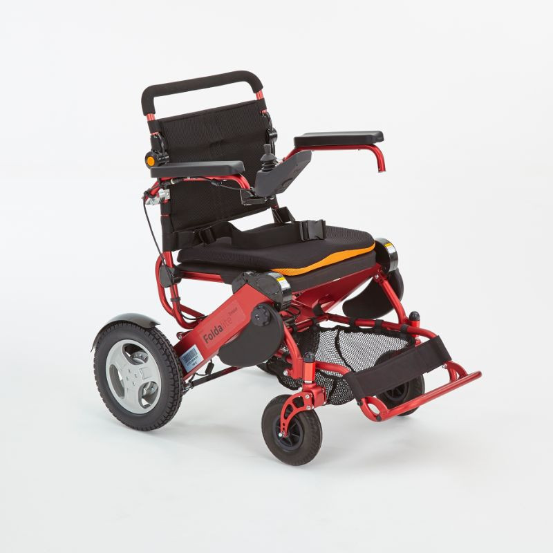 Motion foldalite trekker red folding electric wh