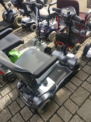 Kymco Grey 4mph boot scooter.