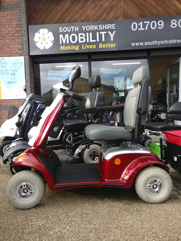 Kymco maxi XLS red 8mph mobility scooter