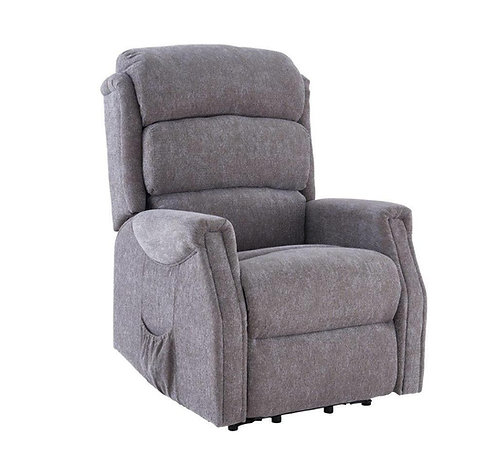 Grey Rise and recline chair