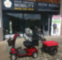 South Yorkshire Mobility shop front Roth