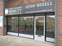 South Yorkshire Mobility shop aids,  Raw