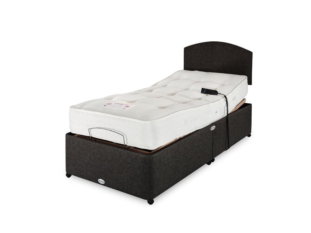 wool supreme single adjustable bed