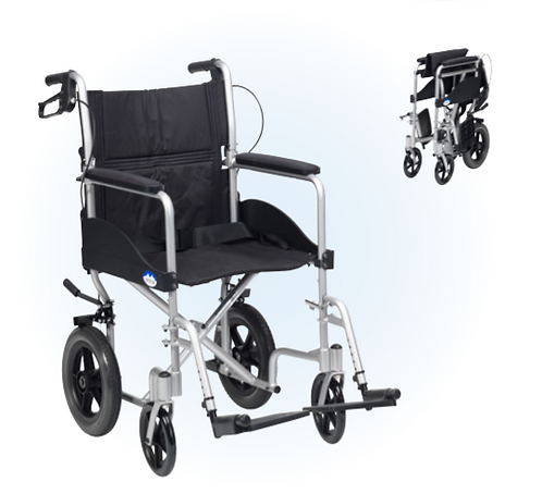 Drive Expedition Plus Transit silver wheelchair