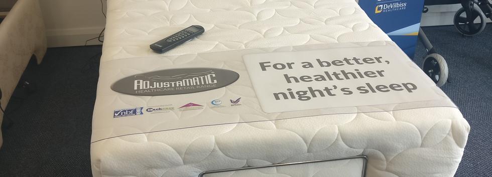 Adjustamatic adjustable health bed