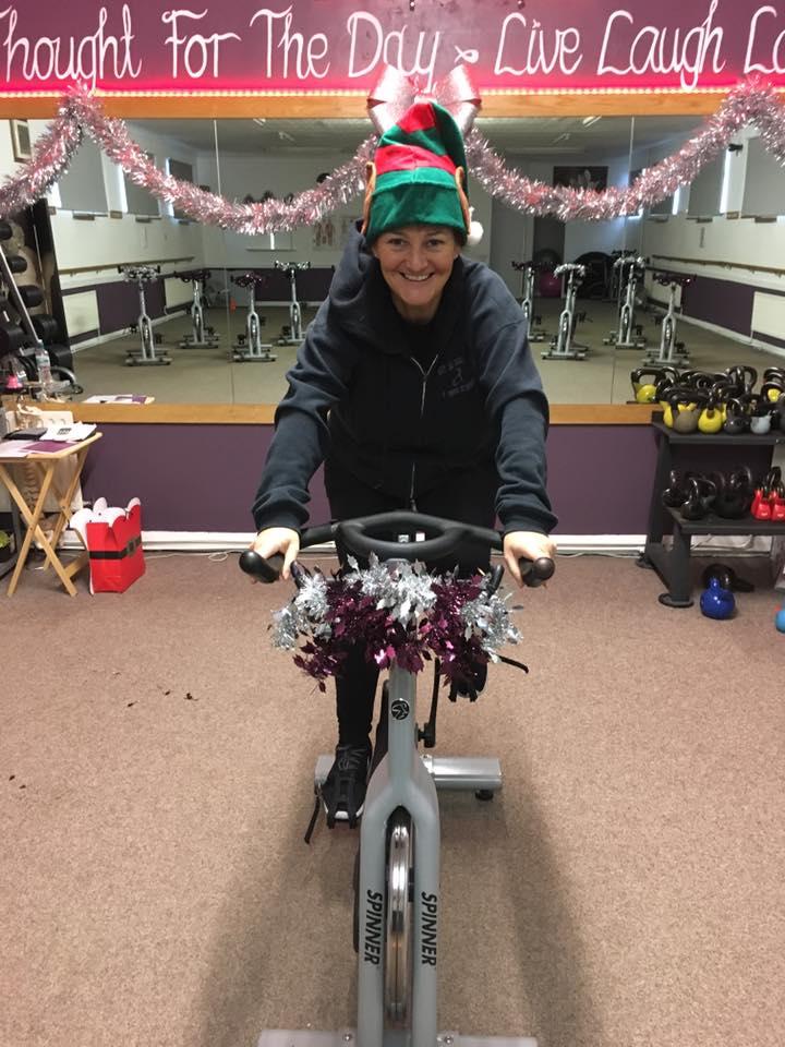 Amanda's Christmas Spin