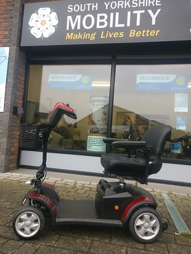 Roma Murcia Preloved 4pmh boot scooter. 3 months FREE insurance and Warranty