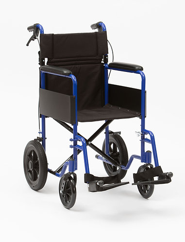 drive devilbiss healthcare Aluminium Transit BLUE Wheelchair (BL)