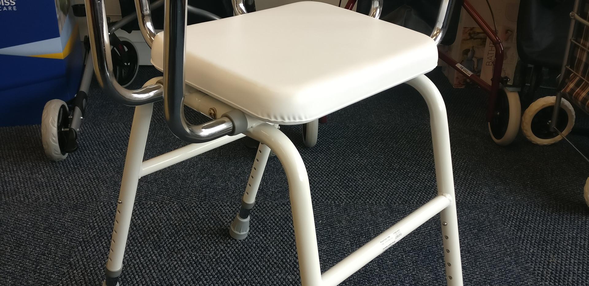 Multi purpose white stool