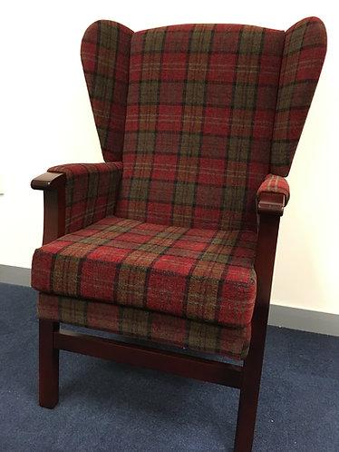 Barrowfield High back fireside chair