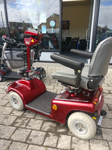 Shoprider deluxe, excellent condition.More used scooters in stock