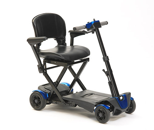 Drive 4 wheel auto mobility scooter side view