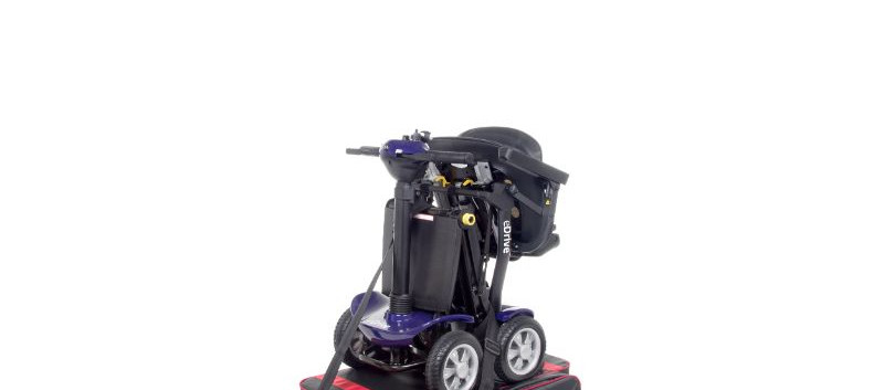 Elev8 compact with mobility scooter stra
