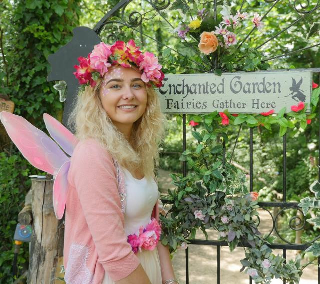 Enchanted fairy fun at the butterfly gardens in Anston, Sheffield