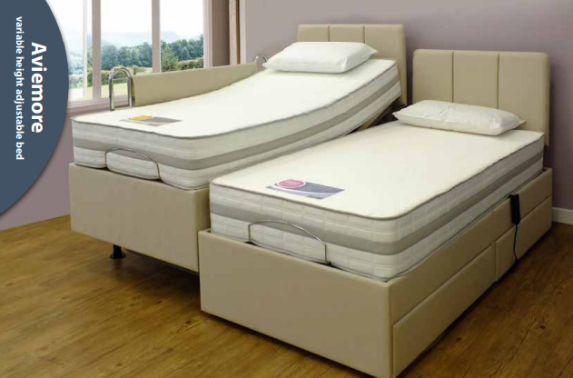 Aviemore vaiable height adjustable bed.P
