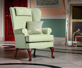 Sherborne Buckingham green Fireside Chair