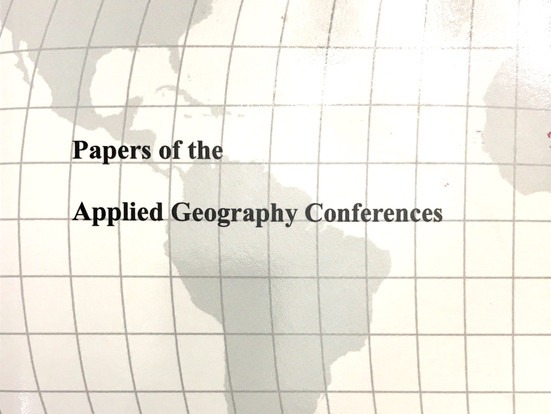 Papers of the Applied Geography Conferences