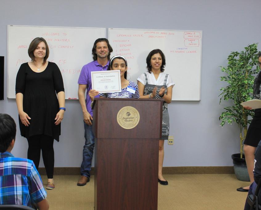Speech Contest April 2016 82