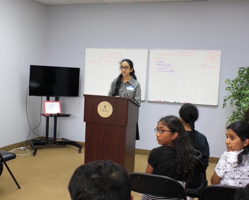 Speech Contest April 2016 14