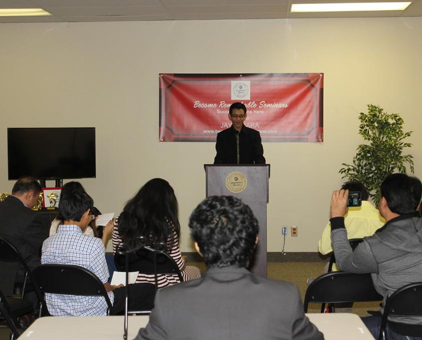 Advance Youth Communication & Leadership Program December 2015 36