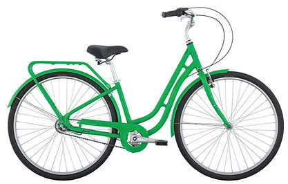 A cruiser bike