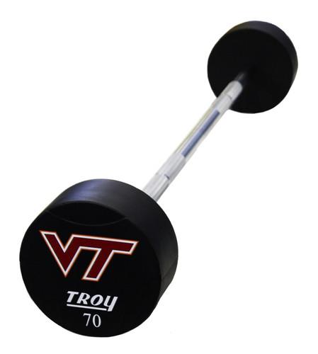 TSB-UTL Troy Urethane Custom Logo Straight Barbell