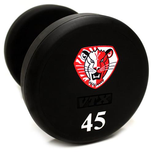 XD-UL VTX Round Urethane Custom Logo Dumbbell