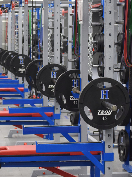 Building stronger bodies in athletic weight rooms
