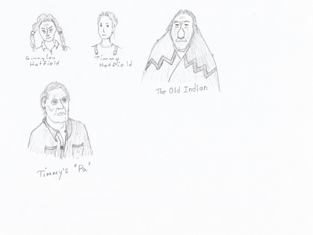 THE BREAKDOWN - character illustrations # two