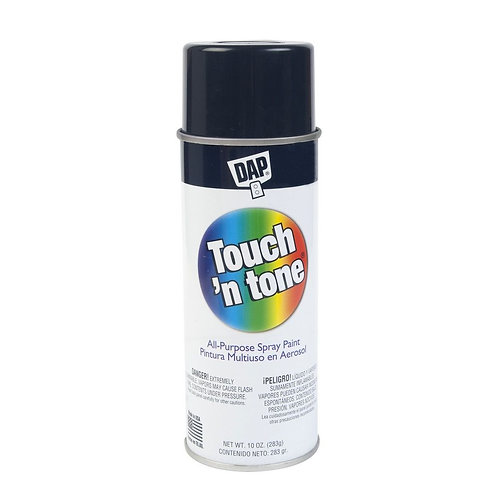 SPRAY NEGRO MATE TOUCH'N TONE 070798552753